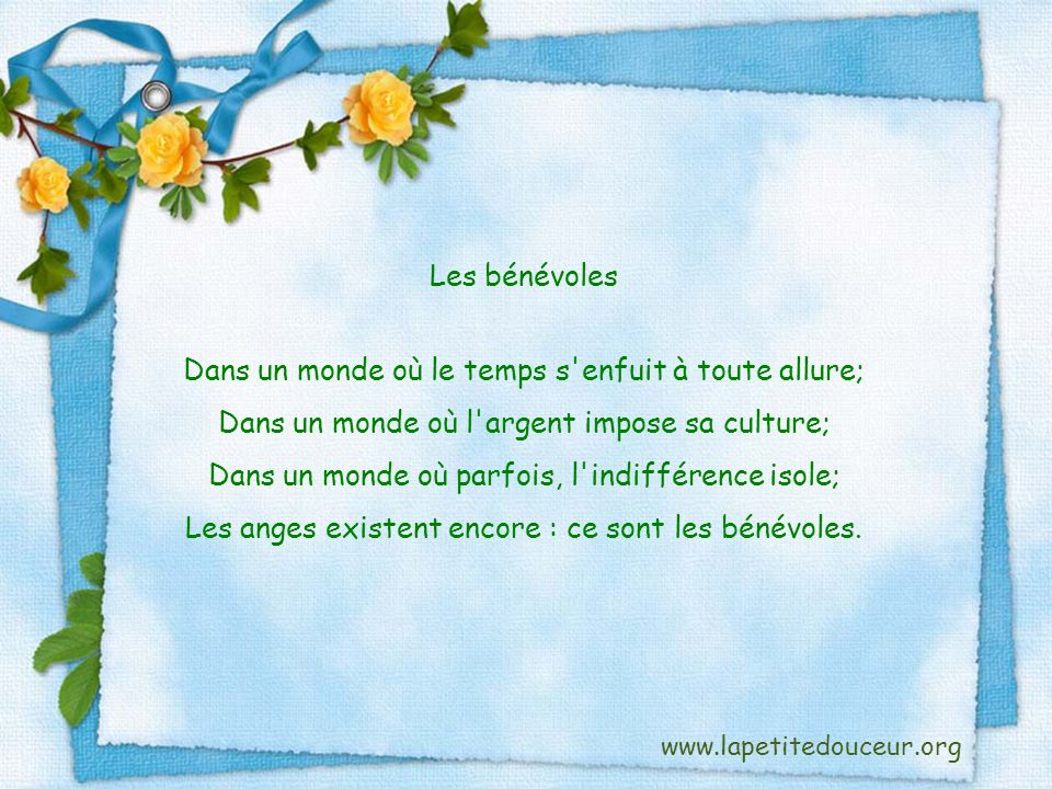 Texte : Petites douceurs pour le cœur, tome 1, p.