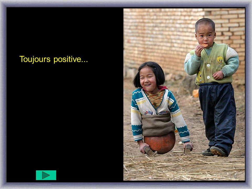 Toujours avec un grand sourire