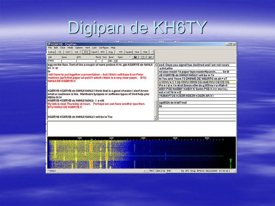 Logiciel de carte de son pour mode numérique Ham Radio Deluxe en mode PSK-31 (HB9DRV)
