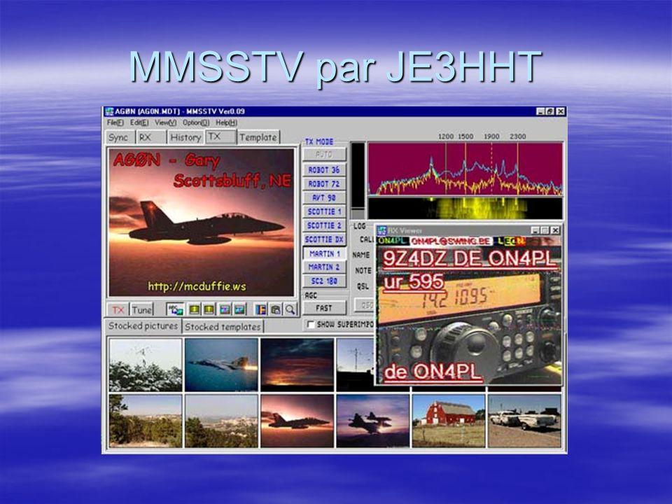 Terminal MT63 de IZ8BLY Utilisé par des radioamateurs et le Navy MARS