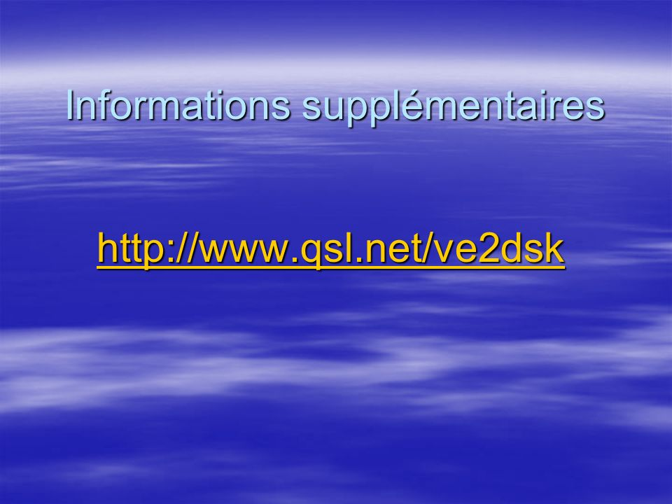 Quel endroit opèrer en modes numérique Les plages de fréquences HF numérique proposées Les plages de fréquences HF numérique proposées 10 M : 28.110 -