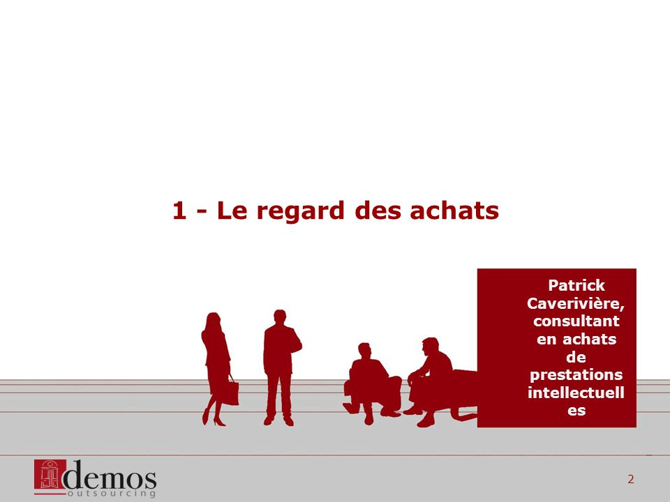 Document confidentiel et non contractuel3 3 niveaux dintervention des acheteurs Référencement Pilotage des appels doffre Management des fournisseurs