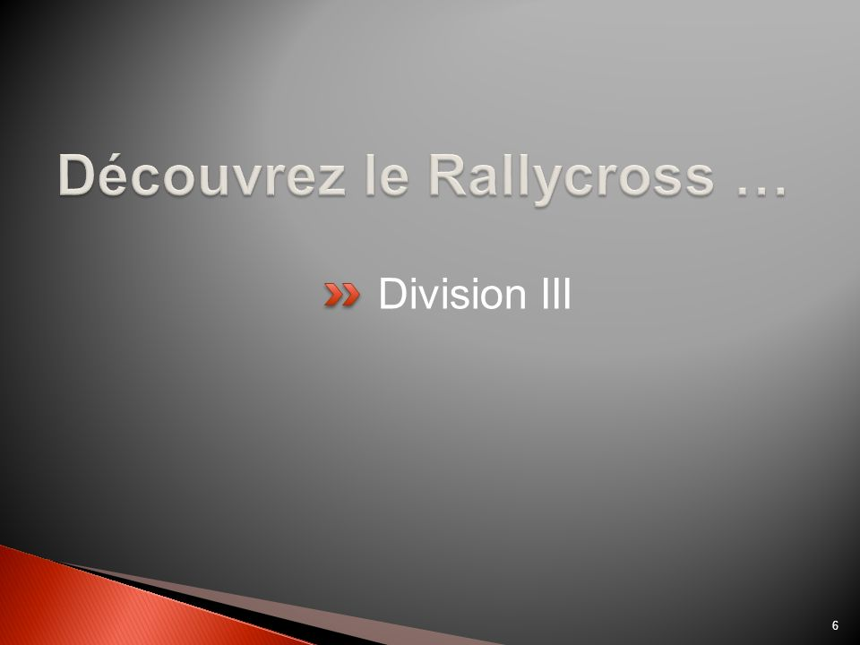 Division III 6