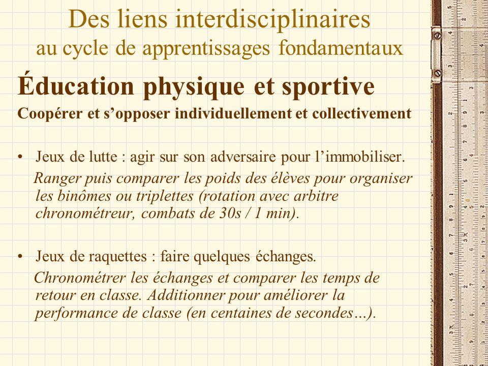 Éducation physique et sportive Coopérer et sopposer individuellement et collectivement Jeux de lutte : agir sur son adversaire pour limmobiliser. Rang