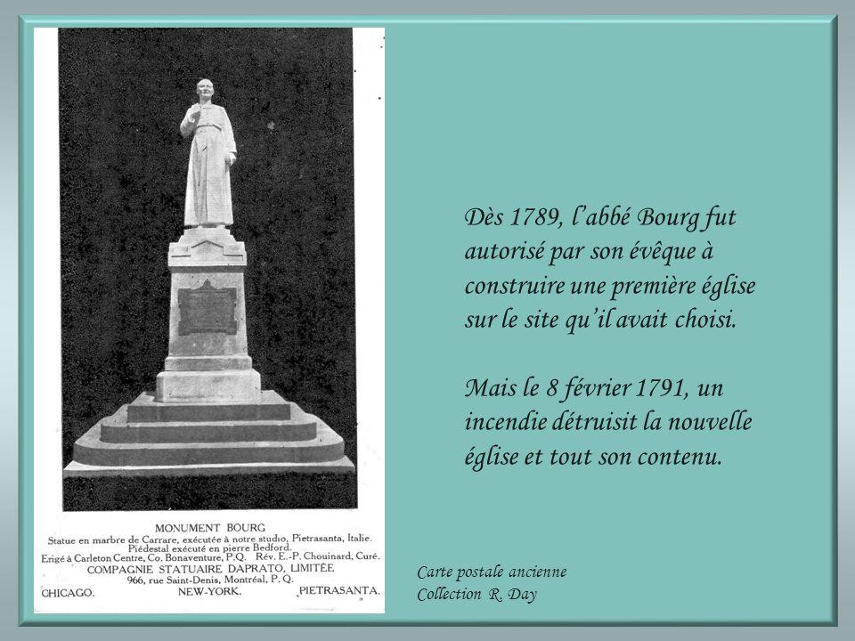 Vers 1773, le père jésuite Jean-Baptiste de la Brosse fit construire une première chapelle à Tracadièche. Dans une lettre adressée à lévêque de Québec