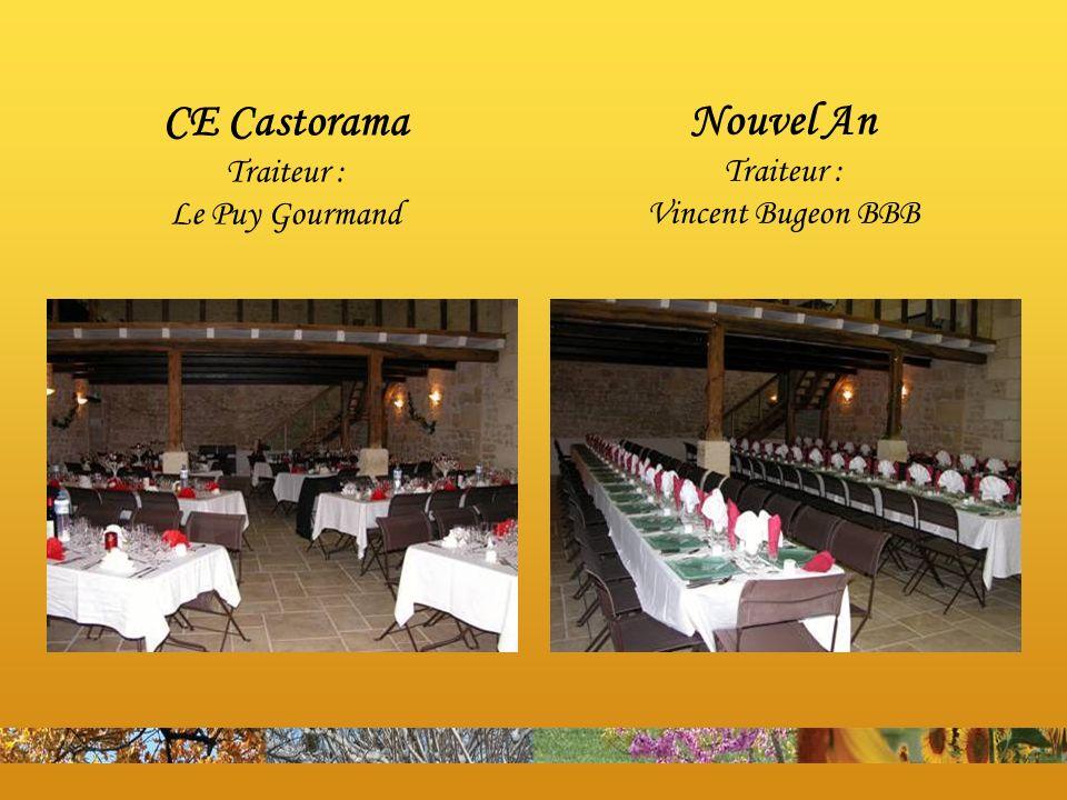 CE Castorama Traiteur : Le Puy Gourmand Nouvel An Traiteur : Vincent Bugeon BBB