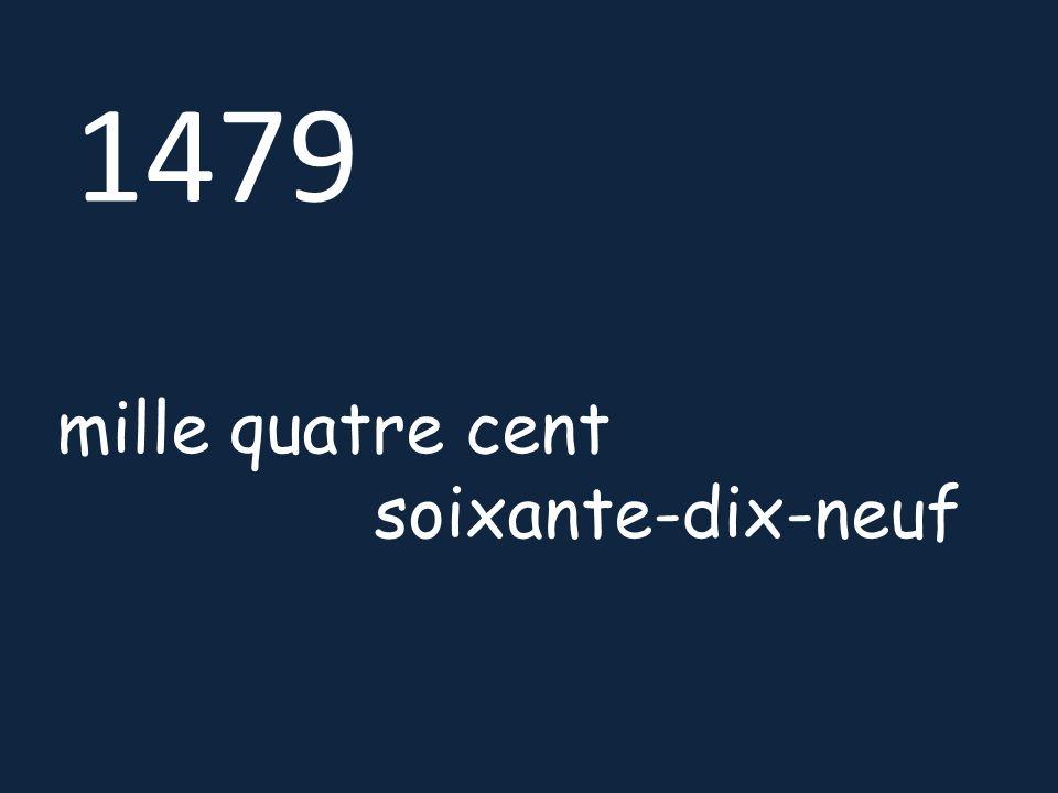 16580 seize mille cinq cent quatre-vingts