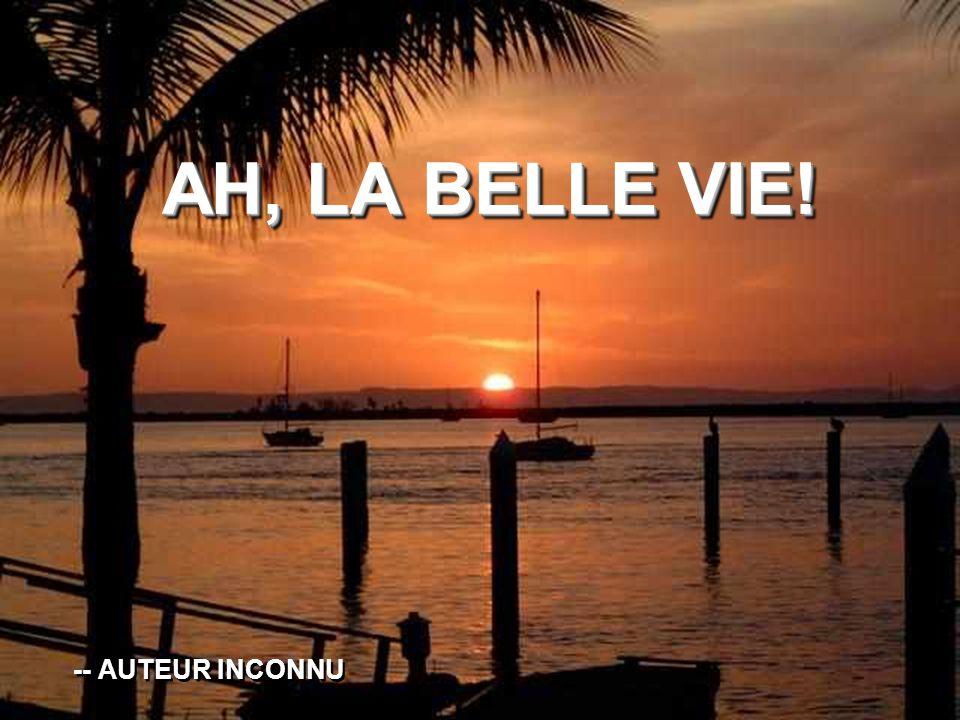 AH, LA BELLE VIE! AH, LA BELLE VIE! -- AUTEUR INCONNU -- AUTEUR INCONNU