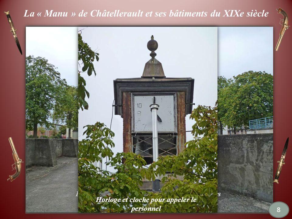 Châtellerault : la « manu » maintenant Dautres bâtiments et des terre-pleins servent à lEcole Nationale du Cirque.