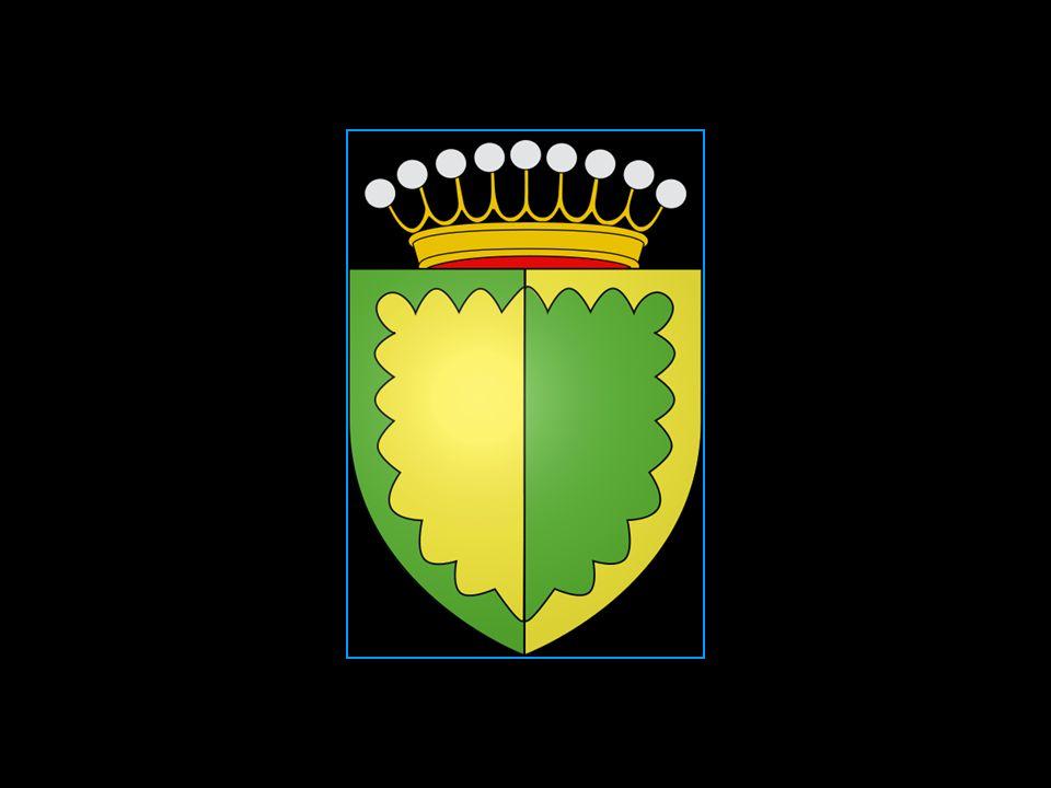 Blasonnement des armes traditionnelles de lAbbaye et Comté dAurillac