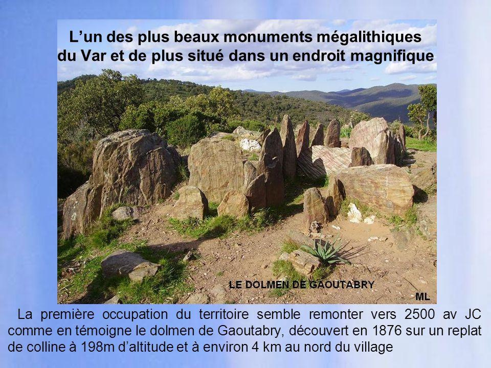 Les Bormini, peuple celto-ligure, vivaient probablement dans le quartier des Vanades aux 7è et 6è siècles av JC.