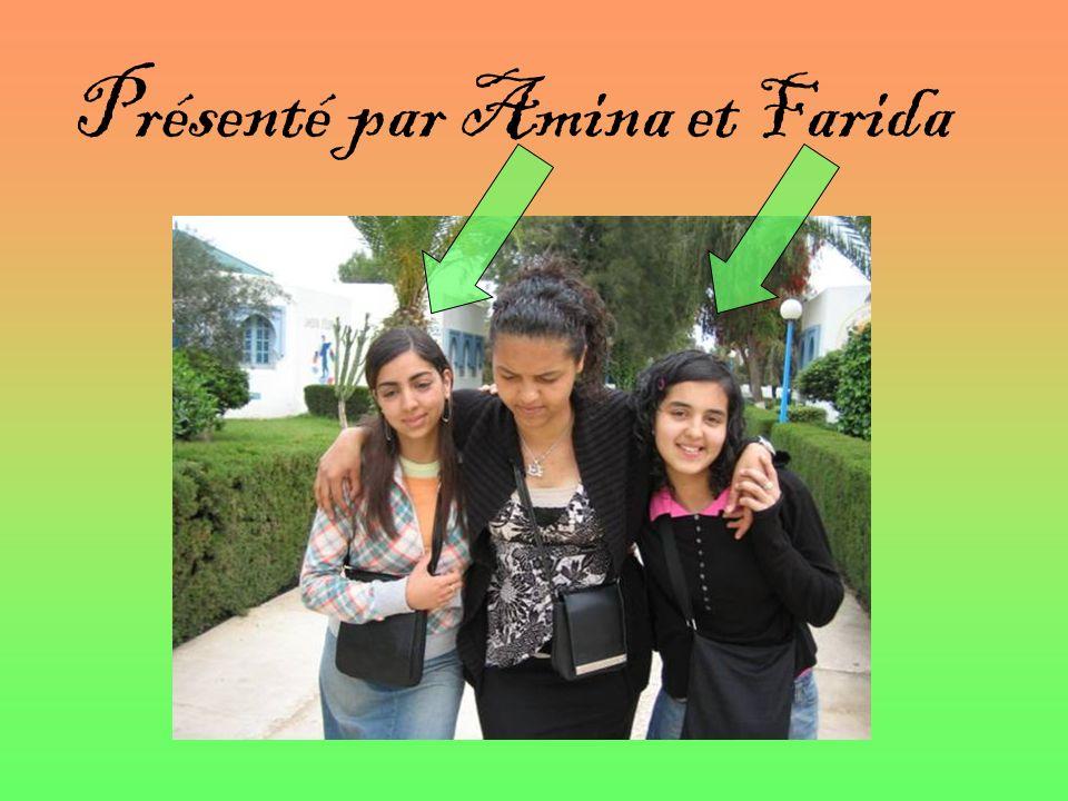 Présenté par Amina et Farida