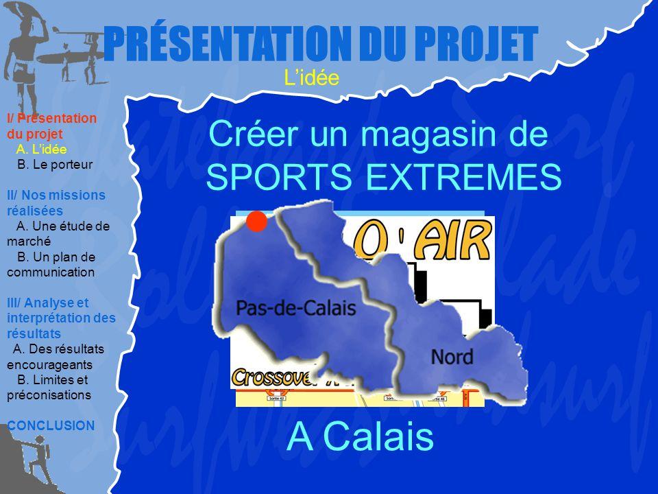 I/ Présentation du projet A.Lidée B. Le porteur II/ Nos missions réalisées A.