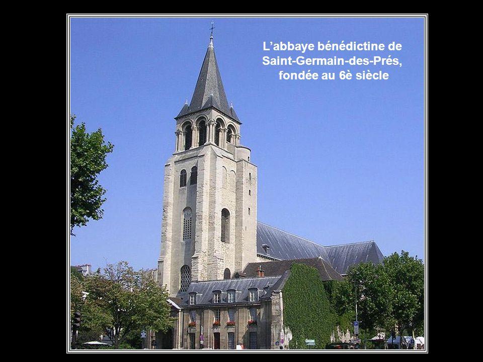Ce quartier de Paris se trouve sur la rive gauche de la Seine, à la hauteur des Tuileries. Il se développa autour de l'abbaye que Chilpéric fit constr