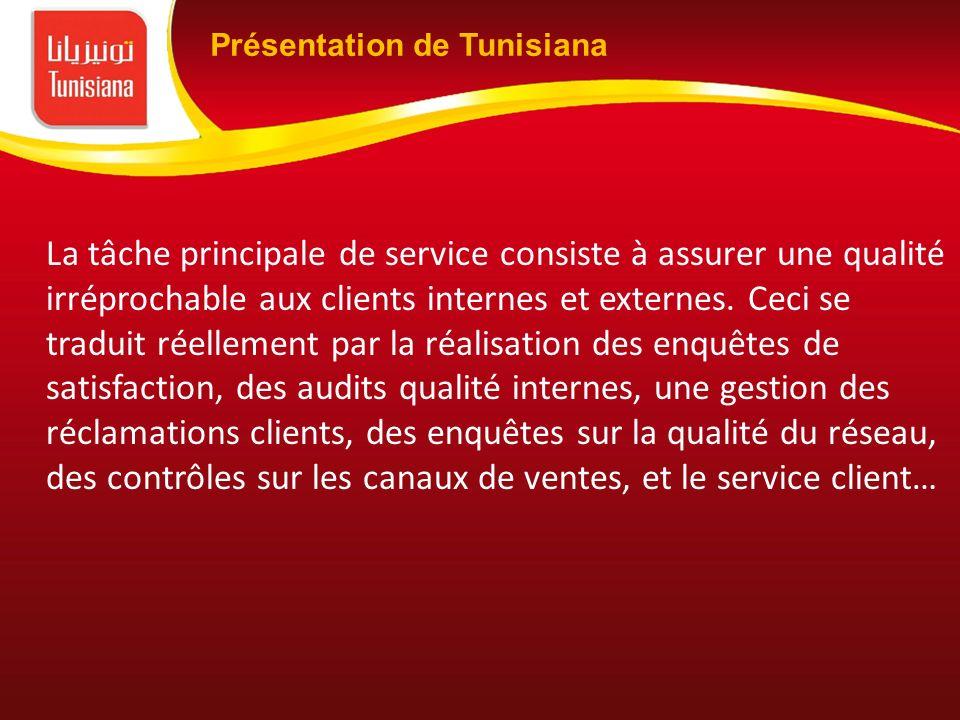La tâche principale de service consiste à assurer une qualité irréprochable aux clients internes et externes. Ceci se traduit réellement par la réalis