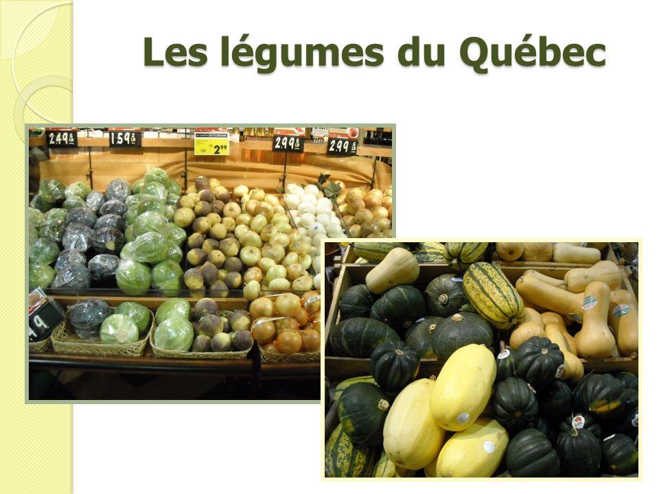 Les légumes du Québec