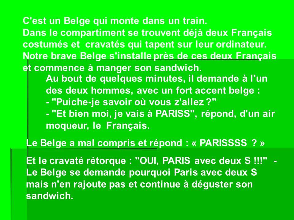 La vengeance du belge !