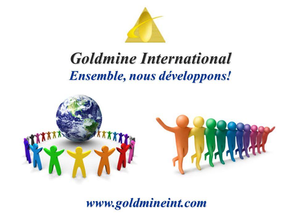 GOLDMINE International Présente une occasion en OR pour atteindre la LIBERTÉ FINANCIÈRE, Temps Libre et de la sécurité par LE MARKETING DE RÉSEAU