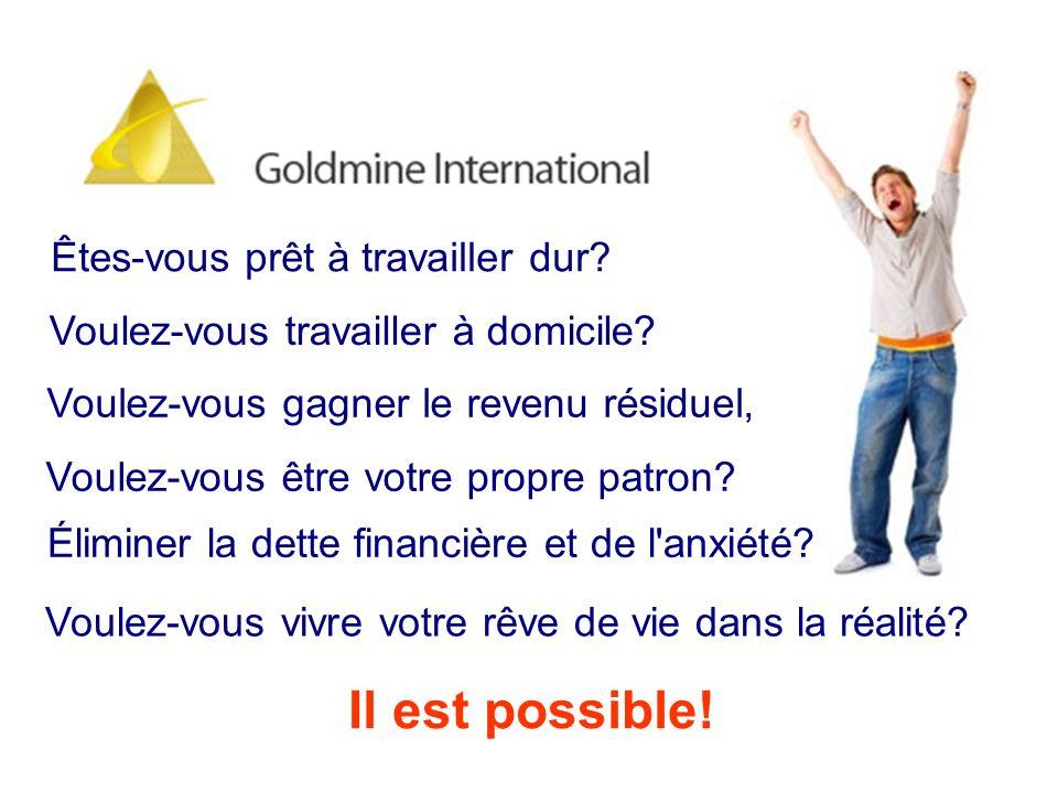 Oui beaucoup de gens faire de l argent avec Gold Mine International, VOUS POUVEZ AUSSI.