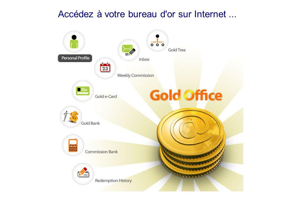 récompense directe Goldmine International Customer Rewards Etape de Récompense (selon le volume de 3L @ + 3R) Étape dor de Motivation ( Basé sur 1L +1 R) Coté gauche Coté droite GMS 1/1 = $30 en liquide étape 2# 3/3 = $30 en liquide 3/3 A>9-Jan-07 1/1 vous PK-824437-1 3/3 A>9-Jan-07 4/4 vous PK-824437-1 Coté droite Coté gauche vous