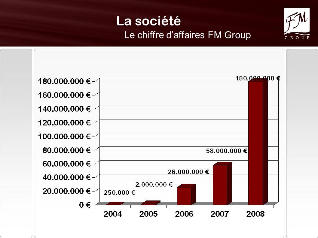 La société Le chiffre daffaires FM Group