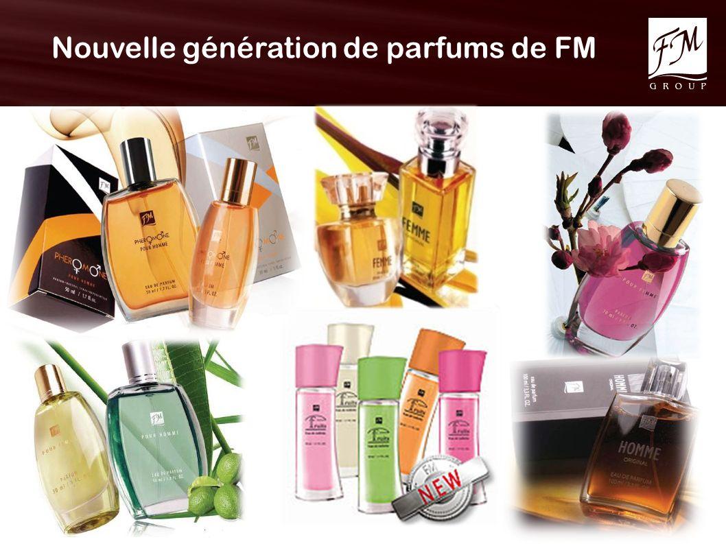 Nouvelle génération de parfums de FM
