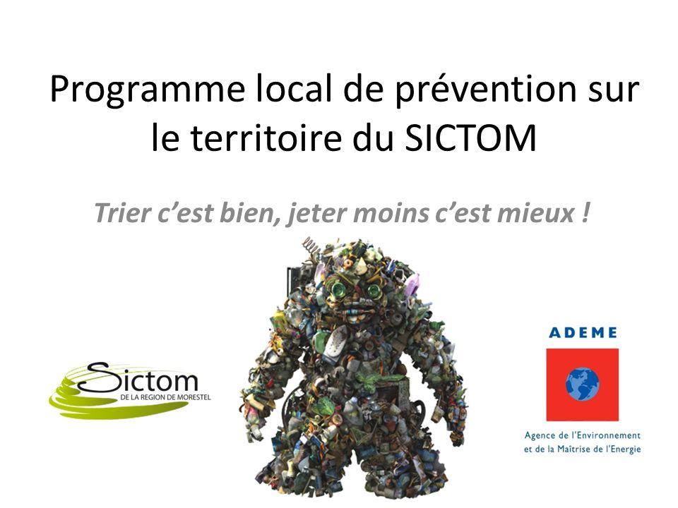 Programme local de prévention sur le territoire du SICTOM Trier cest bien, jeter moins cest mieux !