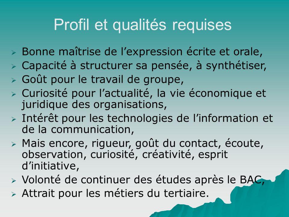 Profil et qualités requises Bonne maîtrise de lexpression écrite et orale, Capacité à structurer sa pensée, à synthétiser, Goût pour le travail de gro