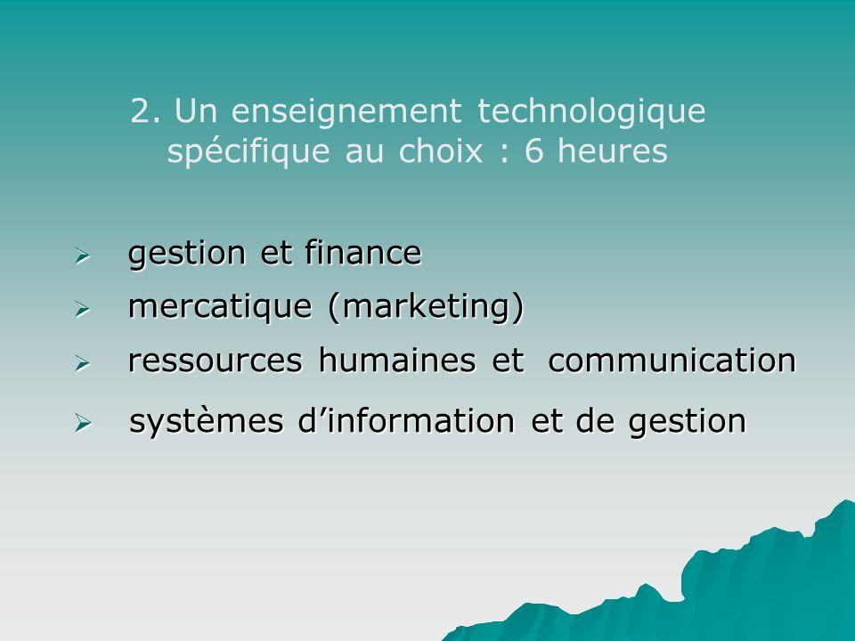 gestion et finance gestion et finance mercatique (marketing) mercatique (marketing) ressources humaines et communication ressources humaines et commun