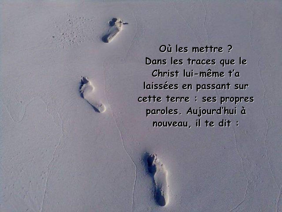 Pour le chrétien, le monde est un maquis épais dans lequel il faut bien voir où mettre les pieds..