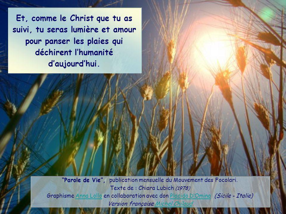 « Si quelquun veut venir à ma suite, quil se renie lui-même et prenne sa croix chaque jour, et quil me suive.