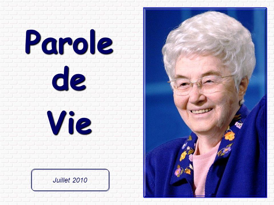 Parole de Vie, Parole de Vie, publication mensuelle du Mouvement des Focolari.