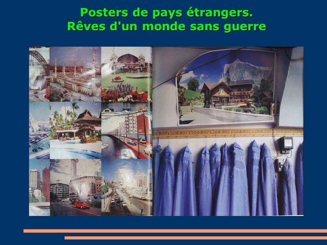 Posters de pays étrangers. Rêves d'un monde sans guerre