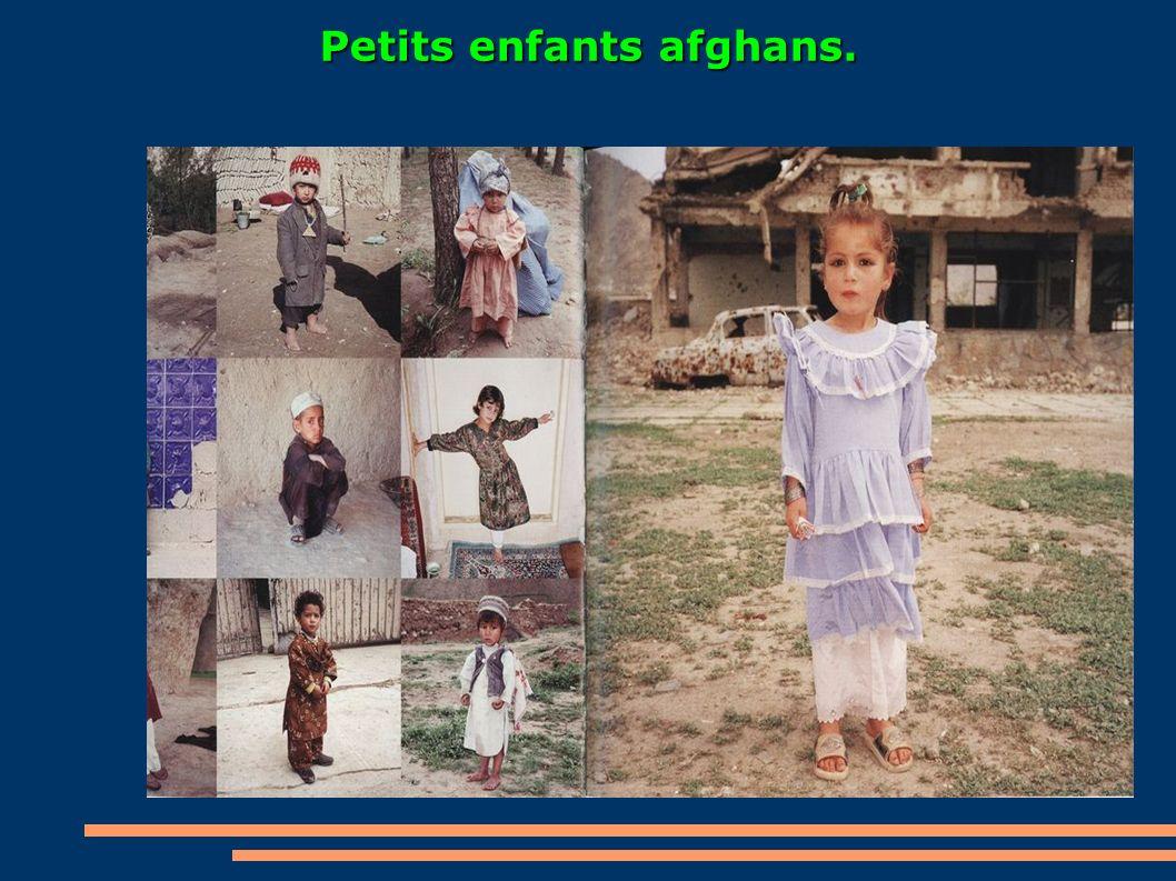 Petits enfants afghans.