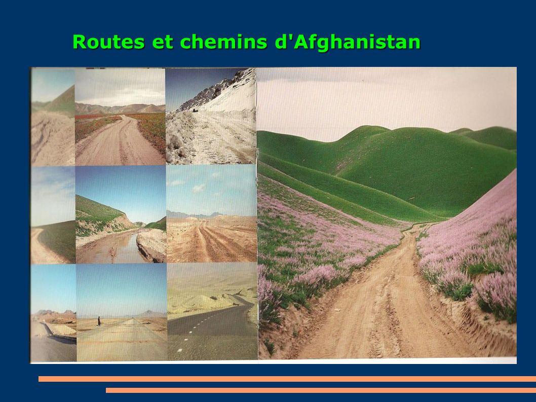 Routes et chemins d'Afghanistan