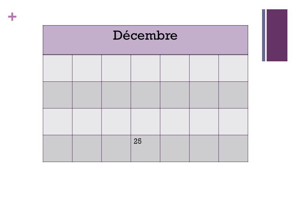 + 25 Décembre