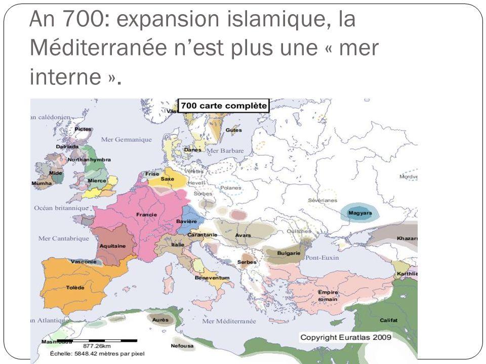 800: lEst se rétrécit, Charlemagne essaie dorganiser lOuest. Débuts de la féodalité