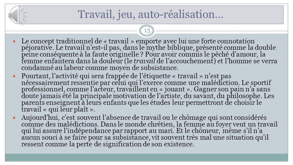 Texte : Karl Marx, Le travail sacrifice, in Magnard, page 105.