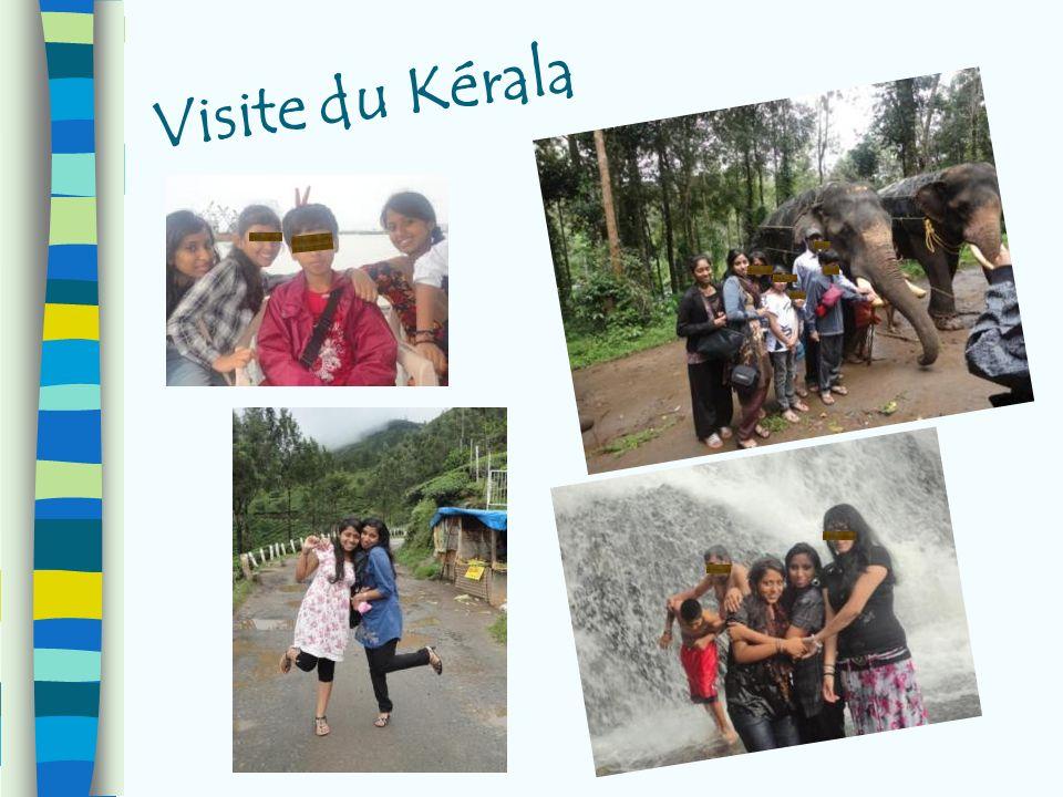 Visite du Kérala