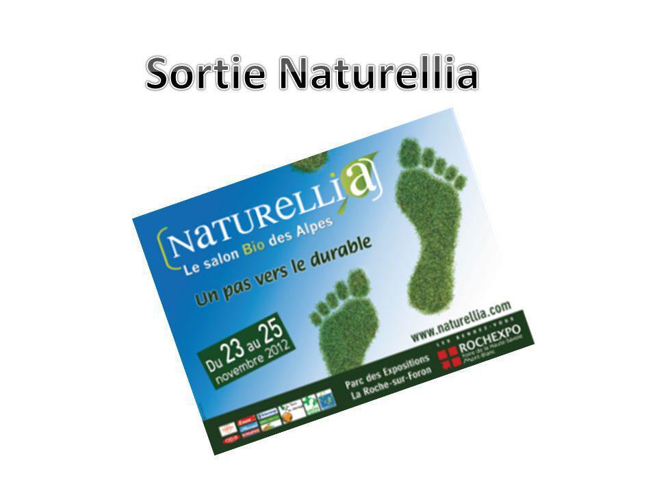Une sortie au salon Naturellia a été organisée par le lycée professionnel les Carillons.
