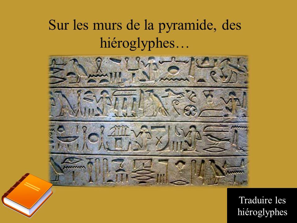 Pas de route, mais des pyramides Chercher une entrée ou un indice