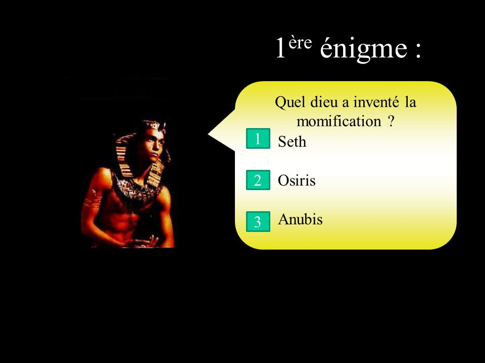Le pharaon… …On dit sil te plait… Je suis Ahmosis, le roi maudit.