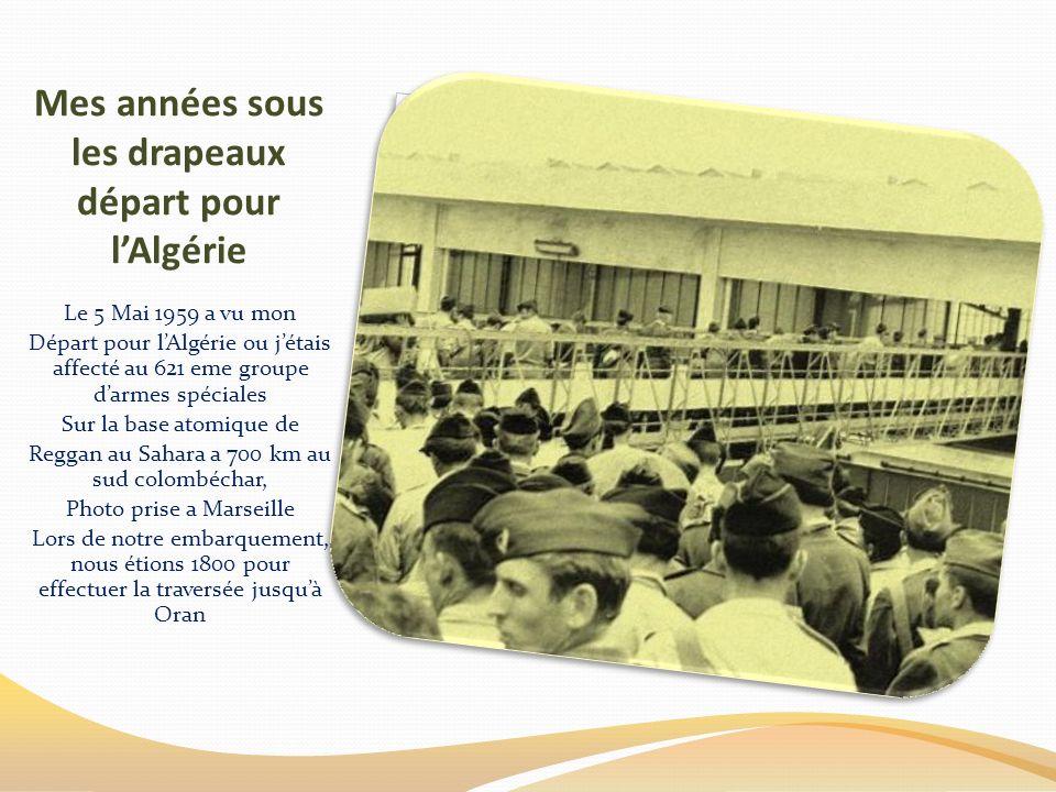 Mes années sous les drapeaux de Mars 1958 a Juillet 1960 14 mois en France de Mars 1958 a Mai 1959 Manœuvres sur le terrain Moment de détente devant u