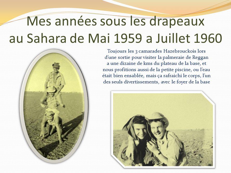 Mes années sous les drapeaux au Sahara de Mai 1959 a Juillet 1960 Caché derrière le muret, nous avons surpris ces femmes entrain de battre le blé, nou