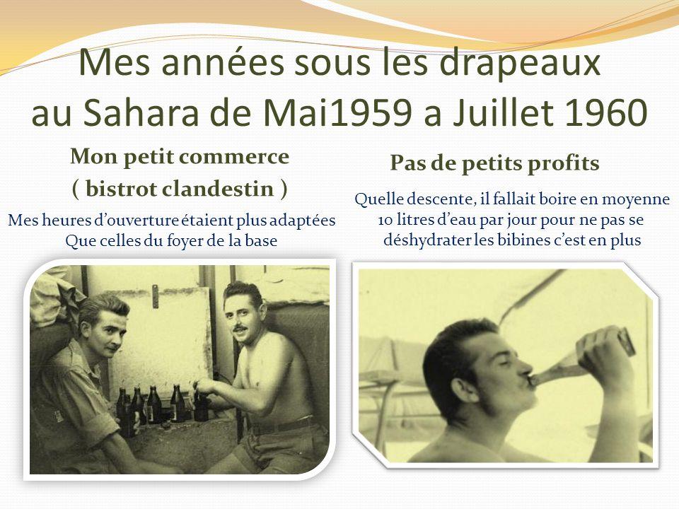 Mes années sous les drapeaux au Sahara de Mai 1959 a Juillet 1960 Une borne kilométrique sur la route entre Reggan plateau et la palmeraie elle était