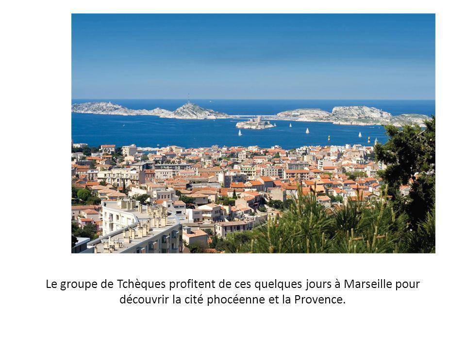 Le groupe de Tchèques profitent de ces quelques jours à Marseille pour découvrir la cité phocéenne et la Provence.