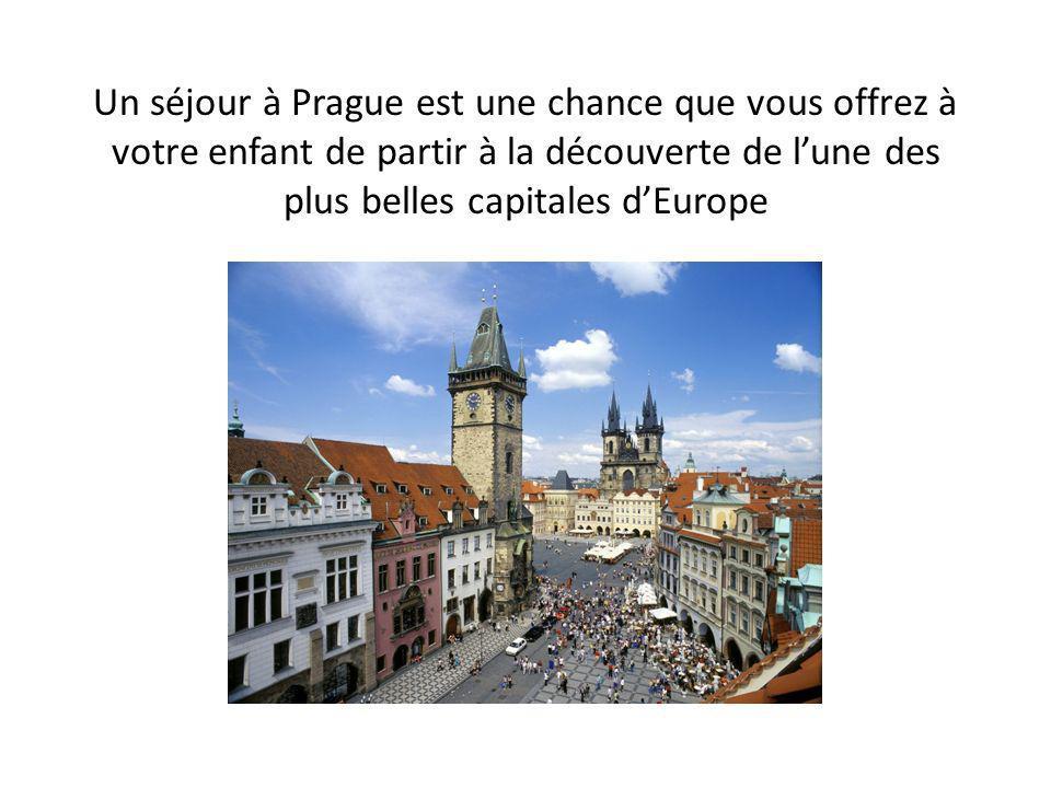 Prague est la capitale dun Etat récemment entré dans lUnion européenne, en 2004.