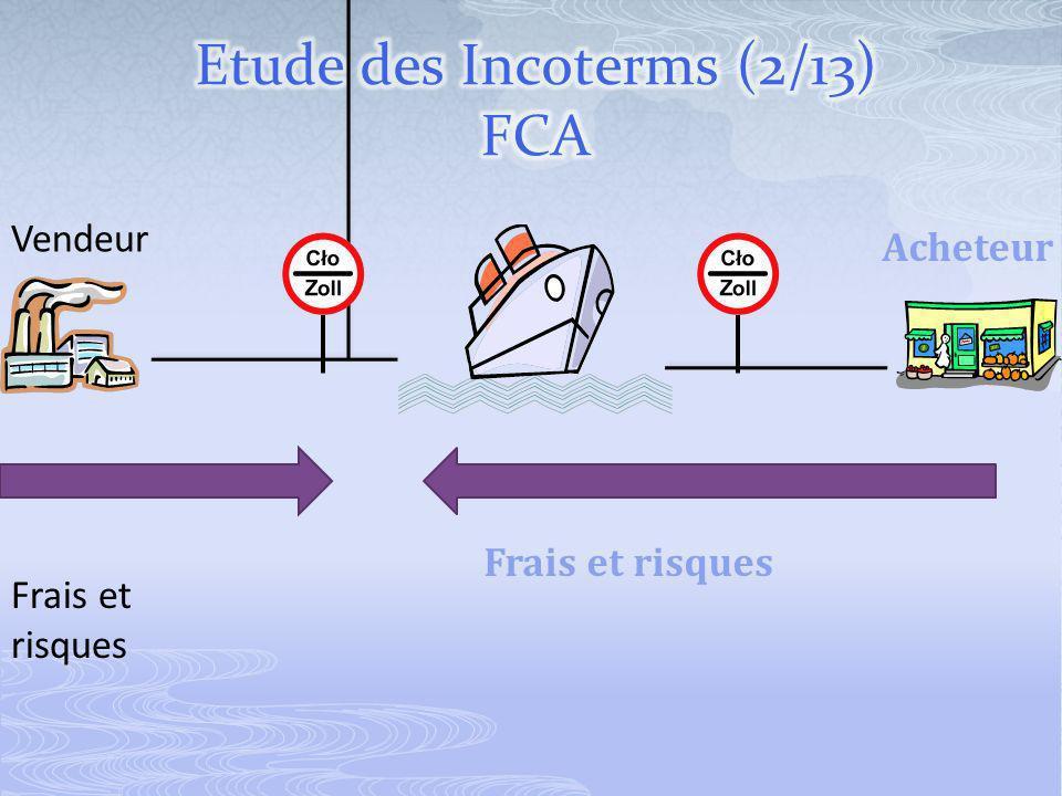 Vendeur Acheteur Frais et risques Frais et risques