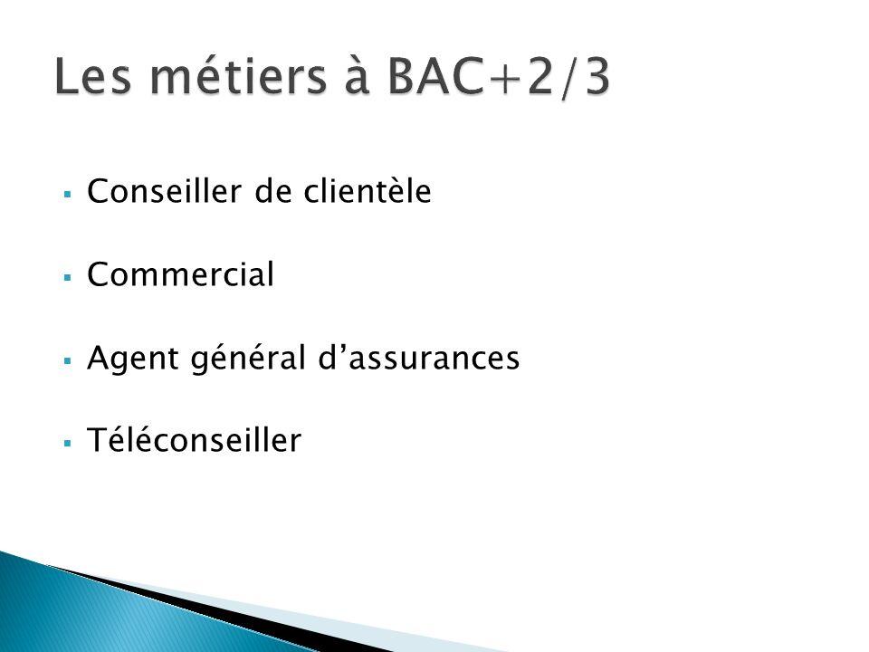 Conseiller de clientèle Commercial Agent général dassurances Téléconseiller