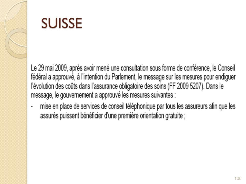 SUISSE 100